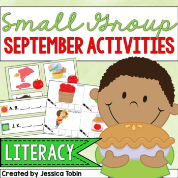 Small Group Activities for September- Early Literacy