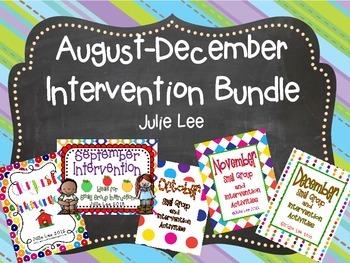 Intervention August-December Bundle