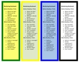 Intervention Bookmark: Before, During, After Reading Strategies (editable)