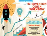 Intervention Coach Workbook - 11 Customizable Spreadsheets