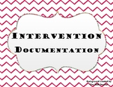 Intervention Documentation Forms