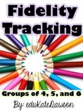 Small Group or Intervention Tracking Sheets (Fidelity)