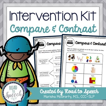 Compare & Contrast Intervention Kit
