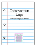 Intervention Log