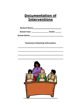 Intervention Menu Booklet/IAT Documentation