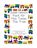 Intervention Pack for story Max Takes the Train