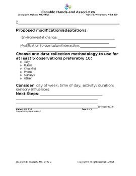 Intervention Plan Worksheet