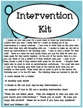 Intervention Planner
