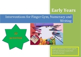 Intervention Planning. Targeted Support for Finger Gym, Nu