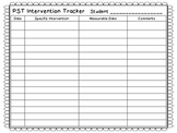 Intervention Planning and Tracking Forms