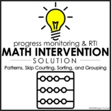 Intervention Solution: Patterns, Skip Counting, Sorting, a