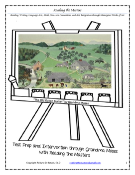 """Intervention & Test Prep with """"The Old Oaken Bucket"""" by Grandma Moses"""