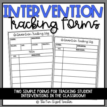 Intervention Tracking Log