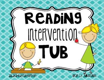 Intervention Tub Label