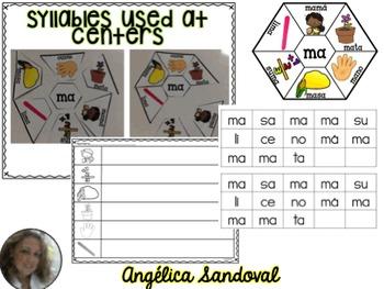 Intervention Word Work with Syllables LA LE LI LO LU Intervención