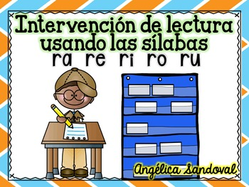 Intervention Word Work with Syllables RA RE RI RO RU