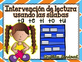 Intervention Word Work with Syllables TA TE TI TO TU