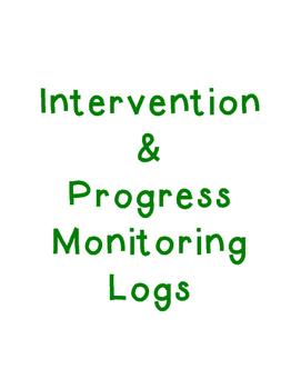 Intervention and Progress Monitoring Logs