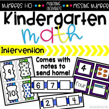 Interventions At Home: Numbers 1-10