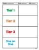 Interventions Binder Teacher Forms