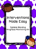 Interventions Made Easy: Syllable Blending