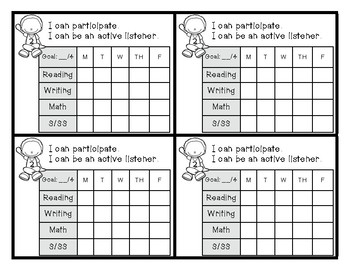 Behavior Tracking Charts & Graphing