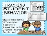 Behavior Chart Tracking Individual Behavior & Graphing Int
