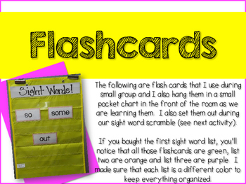 Interventions With Good Intentions!  Fry Sight Word List 1