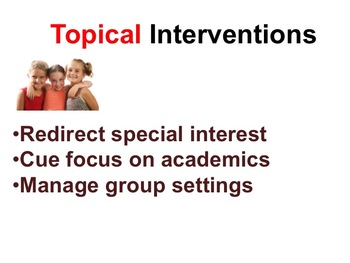 Interventions for Asperger's