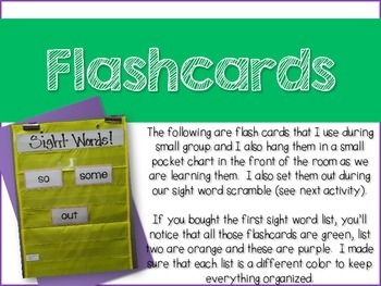 Interventions with Good Intentions!  Fry Sight Word List 3