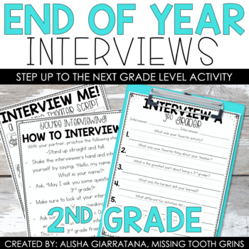 End Of Year Interview (2nd Grade)