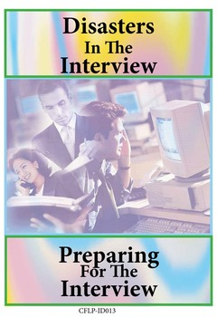 Interview Disasters And Strategies