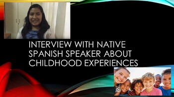 Spanish Interview Native Speaker Childhood Experiences (Imperfect Tense)