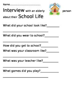 Interview Olden Days School