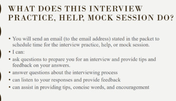 Teacher/ Administrator Interview Practice, Help, Mock Session (25 minutes)