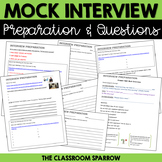 Mock Interview Preparation & Questions Activity