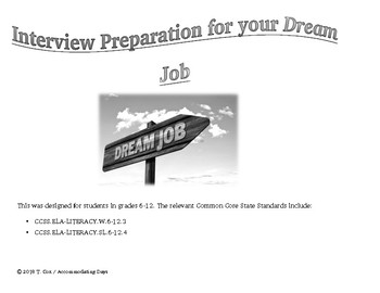 Interview Preparation for your Dream Job