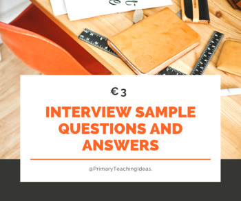 Interview Questions and Answers for Primary School