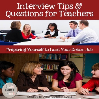 Interview Tips & Questions: Employment Strategies for K-12