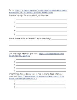 Interview Webquest