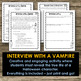 Halloween Writing - Interview With a Vampire