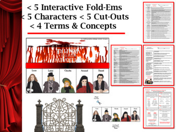 Interview With the Vampire by Anne Rice Interactive Character Flip-Ems
