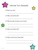 Interview a Classmate!