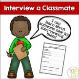 Biography Interview a Classmate