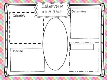 """Interview an Author""- Common Core Vocabulary"