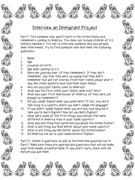 Immigrant Project