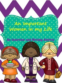Interview and write about an important woman in your life!