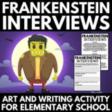 Halloween Creative Writing - Integrated Halloween Art and Writing Project