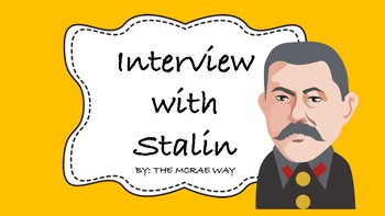 Interview with Stalin