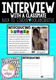 Interview with a Classmate | Back to School